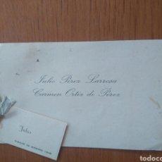 Documentos antiguos: RECUERDO NACIMIENTO, AÑO 1916. TARJETA - ( ZARAGOZA). Lote 211994800