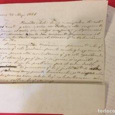 Documentos antiguos: COMPAÑIA DE MINAS JACOVA, CARTAS DIRIGIDAS A ANTONIO CAMPOS GALIANA. CARTAGENA 1845-46. PREFILATELIA. Lote 212001727