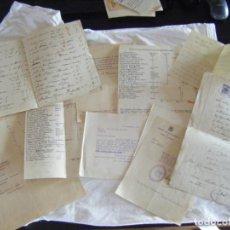 Documentos antiguos: JML CONJUNTO DOCUMENTAL COMUNIDAD HACENDADOS EL PAGO DE LA JARA, VERA, ALMERIA. AÑOS 1948-1949. VER. Lote 212005900