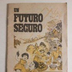 Documentos antiguos: UN FUTURO SEGURO WATCHTOWER BIBLE FOLLETO PUBLICIDAD TESTIGOS DE JEHOVA 1976. Lote 212280747