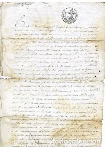 DOCUMENTO DE VENTA/CESION (Coleccionismo - Documentos - Otros documentos)