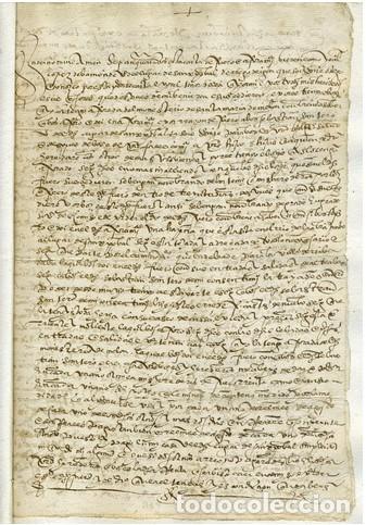 Documentos antiguos: DOCUMENTO S. CRISTOBAL DE REGODEIDON. - Foto 2 - 213432266
