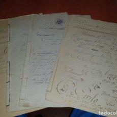Documentos antiguos: DOCUMENTOS MANUSCRITOS DE EL ESPINO, SUELLACABRAS, SORIA, 1860-1930-1901-1926. Lote 213721167
