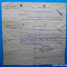 Documentos antiguos: ISIDRO ROVIRA FON. PROCURADOR, BURGOS, 1923.. Lote 213722110