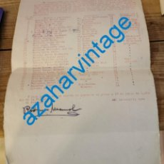 Documenti antichi: ALBOX, ALMERIA, 1939, AFILIADOS A LAS JUVENTUDES DE IZQUIERDA REPUBLICANA, FIRMA RODRIGUE MARMOL. Lote 213767275