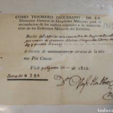 Documentos antigos: DOCUMENTO 1813. Lote 213924687