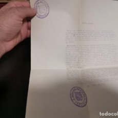 Documentos antiguos: DOCUMENTO NOMBRAMIENTO CARGO DE LA SECRETARIA DEL JUZGADO DE PAZ DE ALSASUA NAVARRA 1967. Lote 214220881