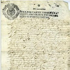 Documentos antiguos: DOCUMENTO VENTA GALICIA 1667 MANUSCRITO. Lote 214298905