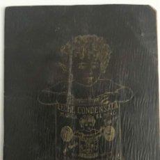 Documentos antiguos: LIBRETA PUBLICIDAD DE LECHE CONDENSADA EL NIÑO.. Lote 214602421