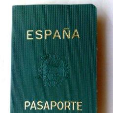 Documentos antiguos: PASAPORTE ESPAÑA (COMPL.32 PAG.) EXPEDIDO BARCELONA 1960,VISADO FRANCIA (DESCRIPCIÓN). Lote 215321618