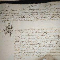 Documentos antiguos: CAPITULOS DONACION - MATRIMONIALES SEPARACION DE BIENES 1599 SIGLO XVI MANUSCRITO CATALÁN.. Lote 216473297