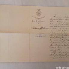 Documentos antiguos: AYUNTAMIENTO JEREZ POLICÍA URBANA AÑO 1891. Lote 217167993