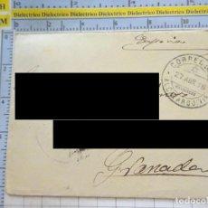Documentos antiguos: CARTA AÑO 1916. DESTINO GRANADA. MATASELLOS ALCAZARQUIVIR PROTECTORADO MARRUECOS. 2561. Lote 217648405
