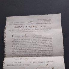 Documentos antiguos: DOCUMETO MILITAR FIRMADO JUAN NAVARRO ITUREN TENIENTE CORONEL DE LOS EJÉRCITOS NACIONALES SIGLO XIX. Lote 218125583