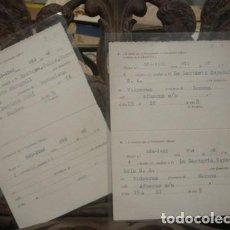Documentos antiguos: GARANTIA DE COCHES 1959 - 2 UNIDADES - PORTAL DEL COL·LECCIONISTA. Lote 218223323