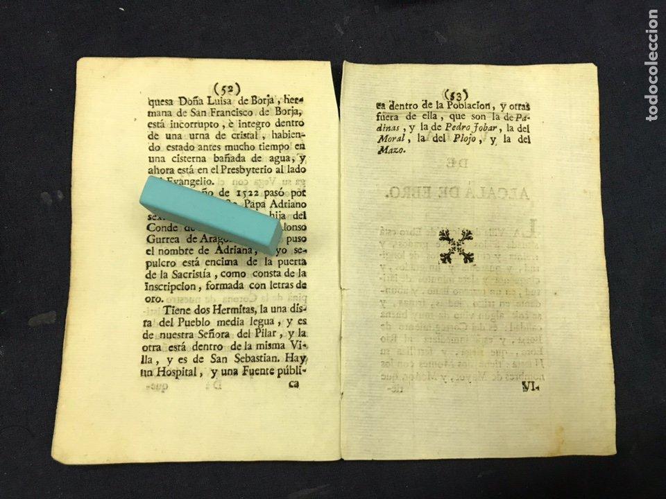 Documentos antiguos: DESCRIPCIÓN DE LA VILLA DE PEDROLA, DEL AÑO 1779. IMPRESO ORIGINAL. - Foto 2 - 218417258