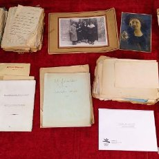 Documentos antiguos: FONDO DOCUMENTAL Y NOVELAS (INÉDITAS?) DE CLOVIS EYMERICH. ESPAÑA. SIGLO XX. Lote 218762441