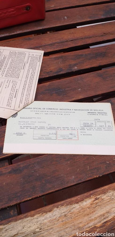 Documentos antiguos: Tributos locales ,licencia fiscal - Foto 2 - 220082315
