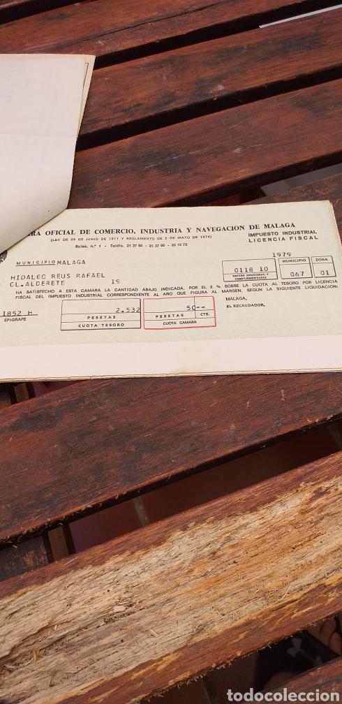 Documentos antiguos: Tributos locales ,licencia fiscal - Foto 3 - 220082315