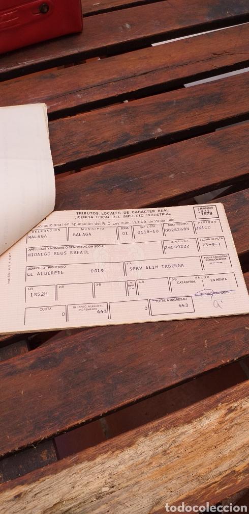 Documentos antiguos: Tributos locales ,licencia fiscal - Foto 5 - 220082315