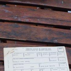 Documentos antiguos: TRIBUTOS LOCALES ,LICENCIA FISCAL. Lote 220082315