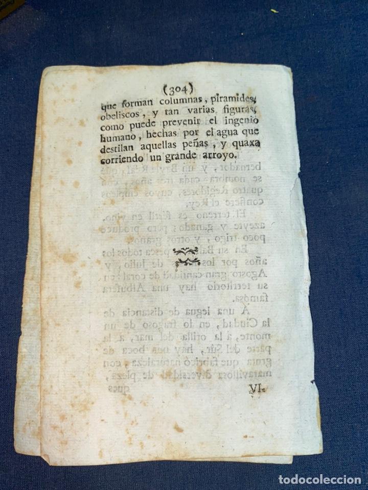 Documentos antiguos: DESCRIPCIÓN DE LA CIUDAD DE ALCUDIA, DEL AÑO 1779. IMPRESO ORIGINAL. BALEARES. - Foto 3 - 220090921
