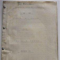 Documentos antiguos: JÁTIVA, ÉNOVA Y RAFELGUARAF - AÑO 1946 - COBROS Y PAGOS FINCAS SRA. BARONESA VDA. DE LLAURI. Lote 220594951