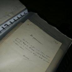 Documentos antiguos: CARPETA DOCUMENTOS MILITARES DEL 1800 A PRINCIPIO DEL 1900.. Lote 220687731