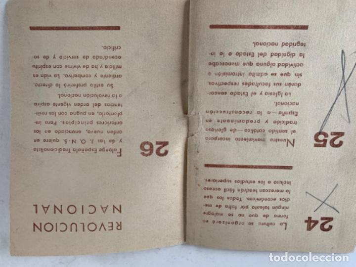 Documentos antiguos: Norma Programática del Nuevo Estado, Falange española - Foto 4 - 220849763
