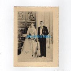 Documentos antiguos: INVITACIÓN BODA DE DON JUAN DE BORBÓN Y DOÑA MERCEDES DE BORBÓN1935. Lote 221342047