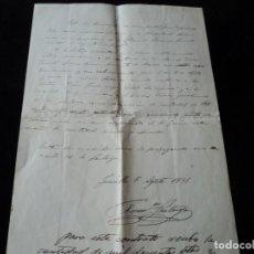 Documentos antiguos: CURIOSO CONTRATO-ACUERDO ESCRITO A MANO DE CELEBRACION DE CORRIDA DE TOROS EN JUMILLA 1931. Lote 221768238