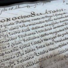 Documentos antiguos: VALLADOLID. 1581. CARTA DE PAGO 30.600 REALES DE PLATA CASTELLANA DE A OCHO, 61 ESCUDOS DE ORO.... Lote 221810502
