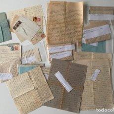 Documentos antiguos: GRAN LOTE DE DOCUMENTOS CARTAS MANUSCRITAS , MARQUESES DE LARIOS , MALAGA DESDE 1937. Lote 221990388