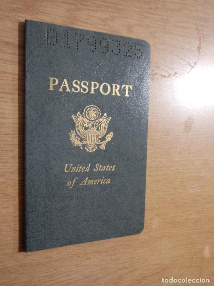 Documentos antiguos: Pasaporte de USA 1973, passport,passeport,reisepass - Foto 2 - 222077338
