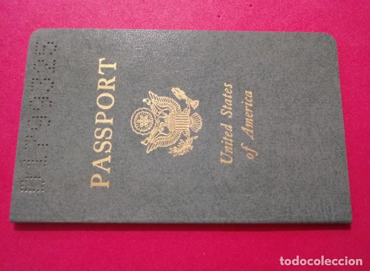 Documentos antiguos: Pasaporte de USA 1973, passport,passeport,reisepass - Foto 3 - 222077338