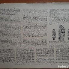 Documentos antiguos: DOCUMENTO DE PÁGINAS DEL LIBRO DE NOTAS DEL RÉCTOR DE LA IGLESIA DE VILANOVA I GELTRÚ / EN CATALÁN. Lote 222192632