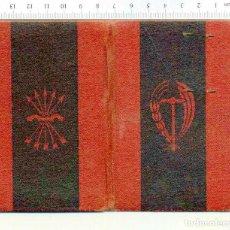 Documentos antiguos: CARNET C.N.S. (CENTRO NACIONAL SINDICALISTA) SINDICATO VERTICAL - FALANGE 1950 DE LA VID , CERVEZAS. Lote 222285996