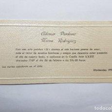 Documentos antiguos: INVITACION A CASAMIENTO, BODA. INVITATION TO WEDDING INVITATION AU MARIAGE 1993. Lote 222617452