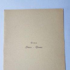 Documentos antiguos: INVITACION A CASAMIENTO, BODA. INVITATION TO WEDDING INVITATION AU MARIAGE 1959. Lote 222617502