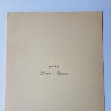 Documentos antiguos: INVITACION A CASAMIENTO, BODA. INVITATION TO WEDDING INVITATION AU MARIAGE 1959. Lote 222617507