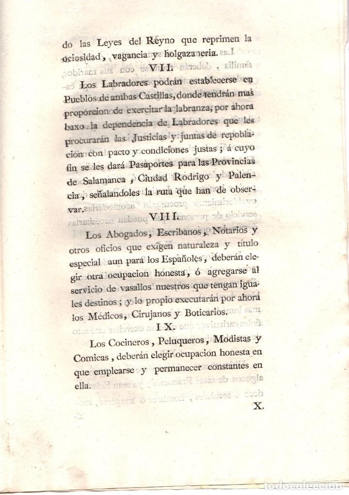Documentos antiguos: REAL PROVISION DE REGLAS A OBSERVAR CON LOS FRANCESES DE TOLON. GUERRA DEL ROSELLON. 1794 - Foto 4 - 222648241