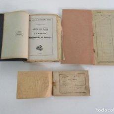 Documentos antiguos: RENFE, INSTRUCCIÓN GENERAL Nº 10, 29,31,32,34,35,37,38,39,40,41,43,44,47,61 - ESTACIÓN TORDERA -1950. Lote 223099428