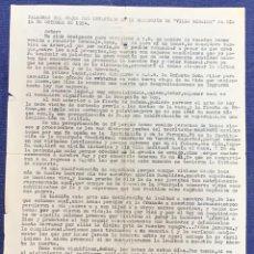 Documentos antiguos: PALABRAS DUQUE INFANTADO VILLA GIRALDA 1954 MONARQUIA LEALTAD REY DESTIERRO PORTUGAL MECANOGRAFIADO. Lote 223635200