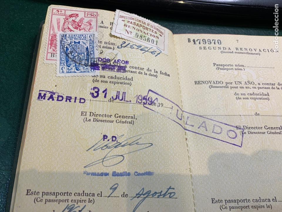 Documentos antiguos: Pasaporte España 1961 - Foto 4 - 224377520