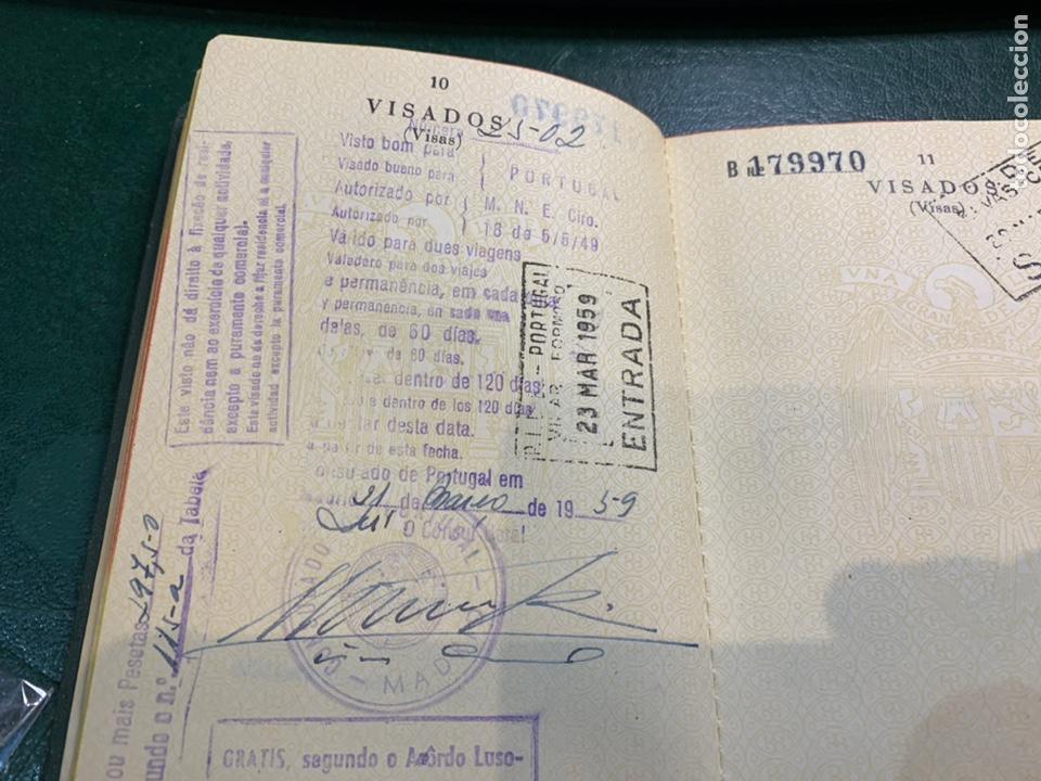 Documentos antiguos: Pasaporte España 1961 - Foto 6 - 224377520