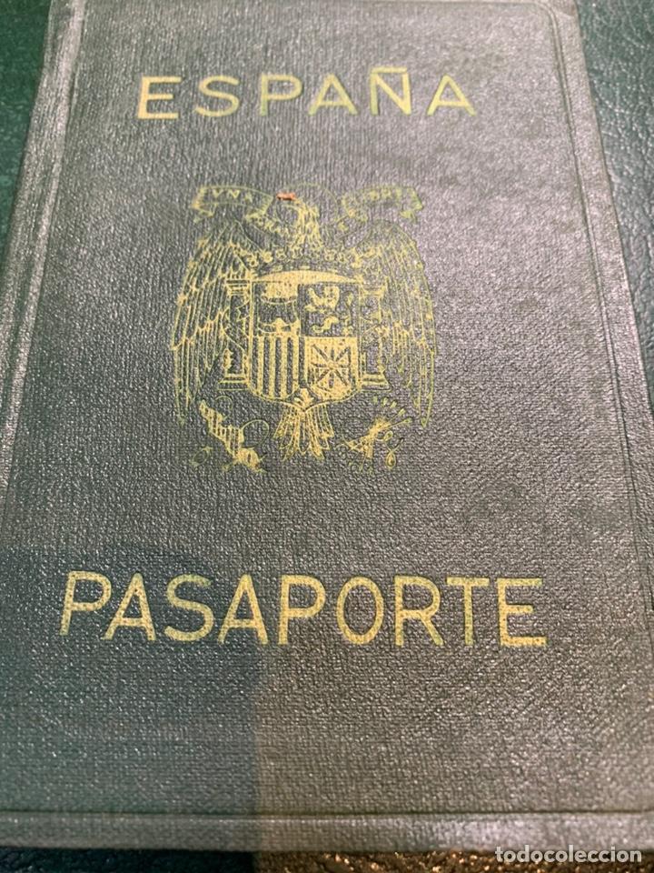 PASAPORTE ESPAÑA 1961 (Coleccionismo - Documentos - Otros documentos)