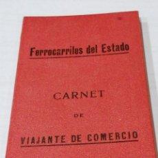 Documentos antiguos: CARNET VIAJANTE DE COMERCIO. Lote 224581930