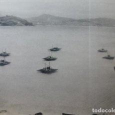 Documentos antigos: MOAÑA PONTEVEDRA VIVEROS DE MEJILLONES ANTIGUA LAMINA AÑOS 40. Lote 224583463