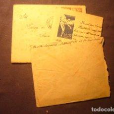 Documentos antiguos: DOS CARTAS DE LUIS DE VAL. AÑO 1948.. Lote 224691331