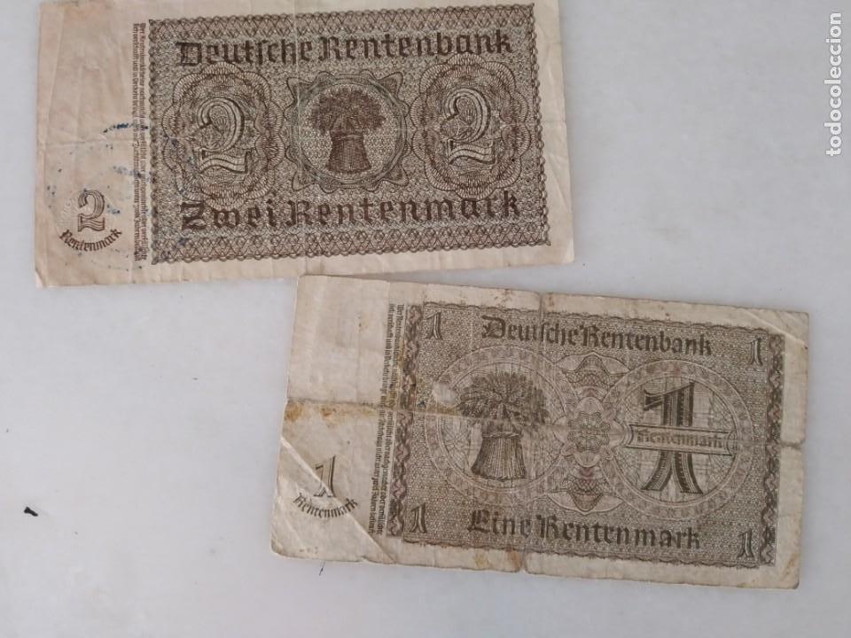 Documentos antiguos: BONITOS BILLETE ALEMANES RESELLO SEGUNDA GUERRA MUNDIAL RESELLO NAZI. - Foto 4 - 225512648